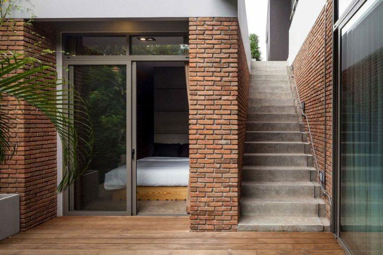imagen habitacion fachada ladrillo visto