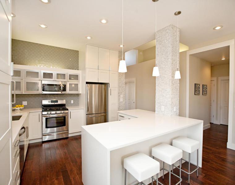 Dise ar cocinas consejos para un lograr interior - Cocinas en forma de ele ...