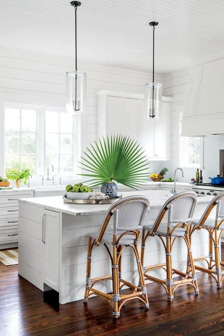 cocina decorada Elizabeth Newman