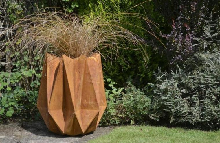 jardinera diseno moderno corten deco