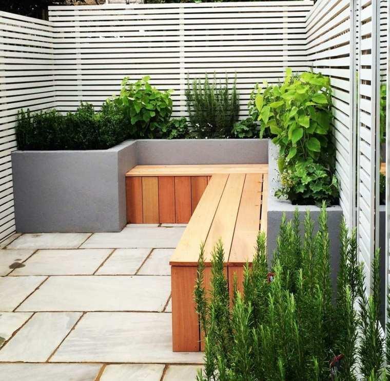 jardineria diseno jardin urbano macetaras grandes ideas