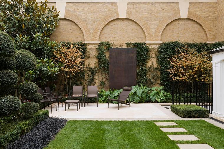 jardineria diseno de jardin urbano muebles jardin sillas diseno ideas