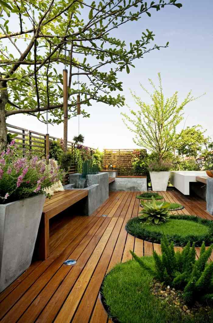 jardines ideas creativas modernas naturales plantas