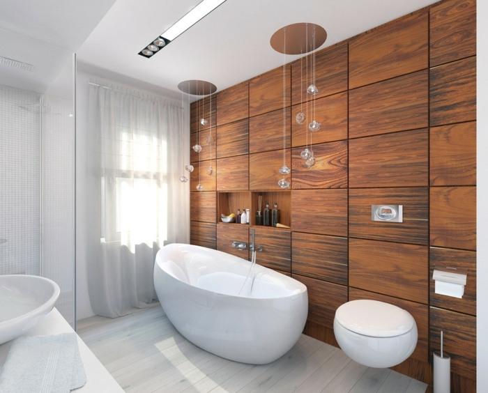 la madera baño sentidos efectos blanco