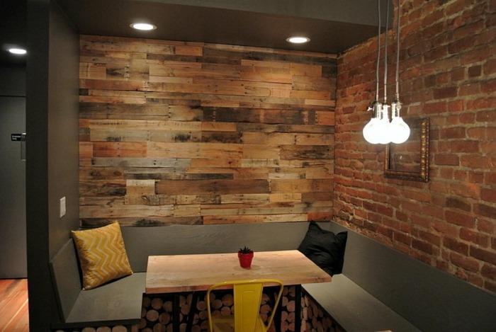 la madera calido efectos salones ideas lema