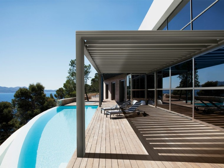 laterales piscinas esmalte fuentes piscina