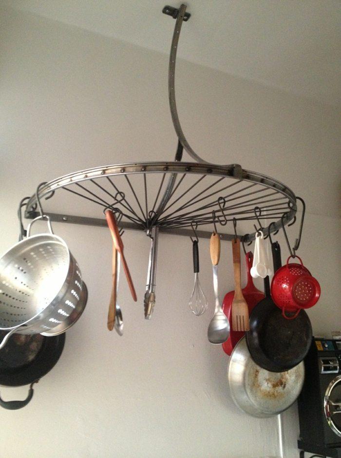 llantas bicicleta opciones reciclar cocina utencilios ideas