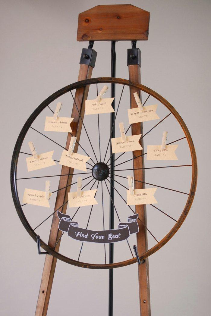 llantas bicicleta opciones reciclar diseno rustico ideas