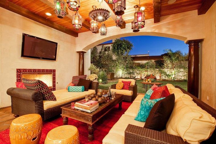 luminarias diseño especiales muebles mediterraneas cojines
