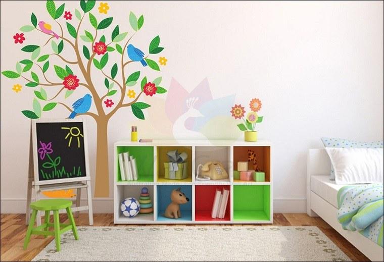 madera especiales muebles estilos flores