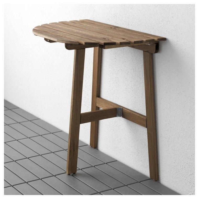 Decoracion de terrazas dise o para espacios peque os for Diseno de mesas plegables