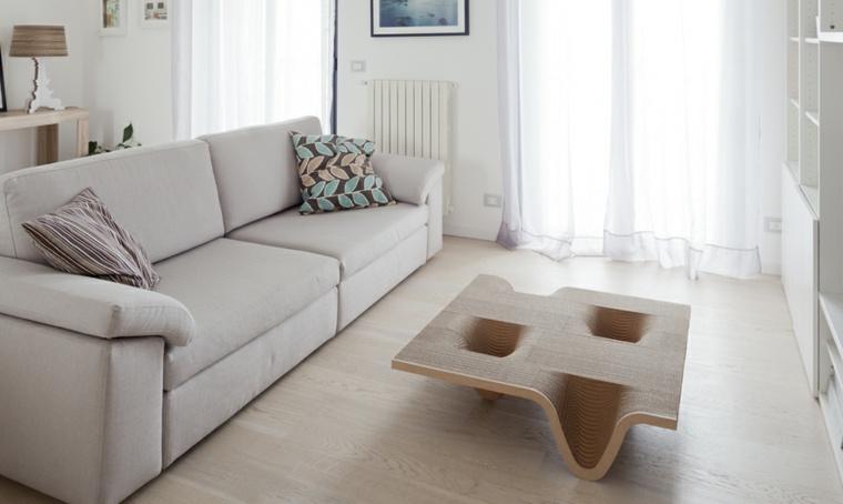 Mobiliario de dise o ecol gico de duna design Mesas extraibles salon