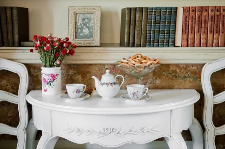 mesa té zona lecturas