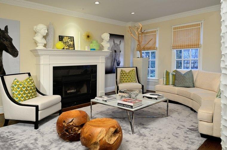 Mesas de centro decoracion con detalles creativos - Mesas de salon de diseno ...