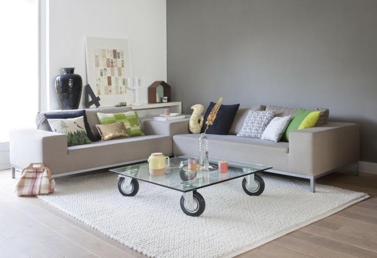 Mesas de centro decoracion con detalles creativos