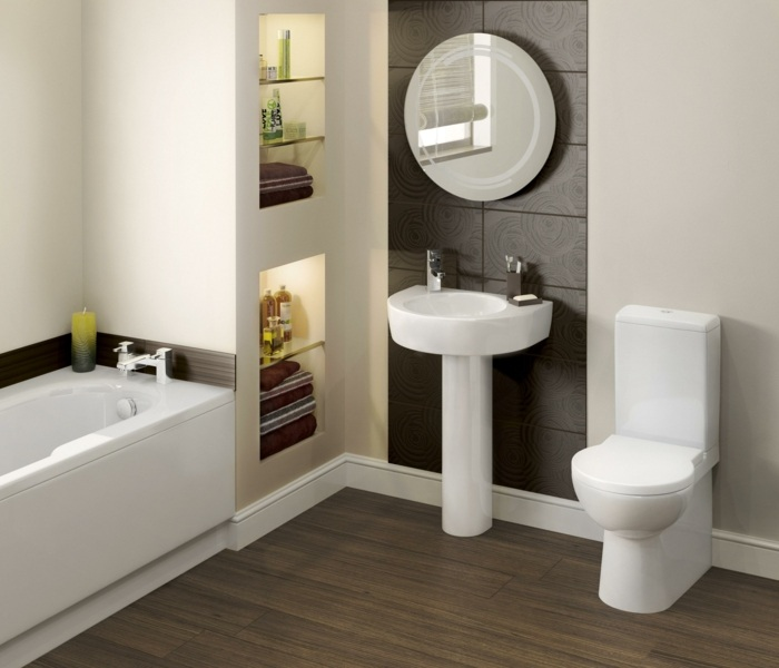 Muebles para ba os peque os y consejos para ahorrar espacio - Disenos banos pequenos ...