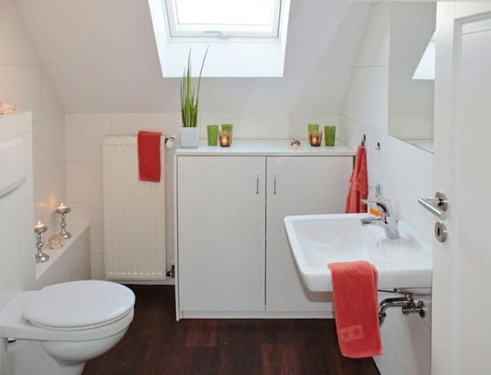 muebles de baño tendencias conceptos blanco toallas