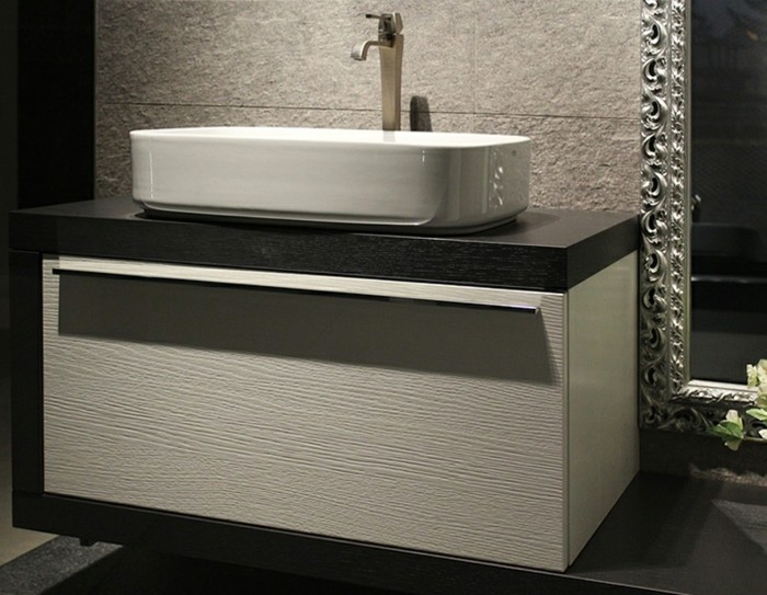muebles de baño tendencias conceptos espejos