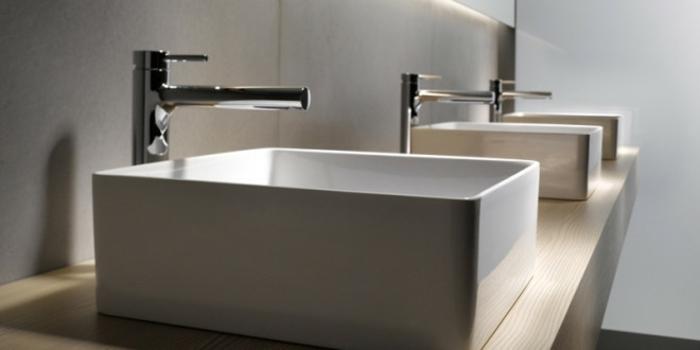 muebles de baño tendencias madera paredes naturales