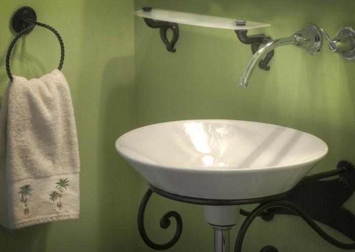 muebles de baño tendencias metales especial acero