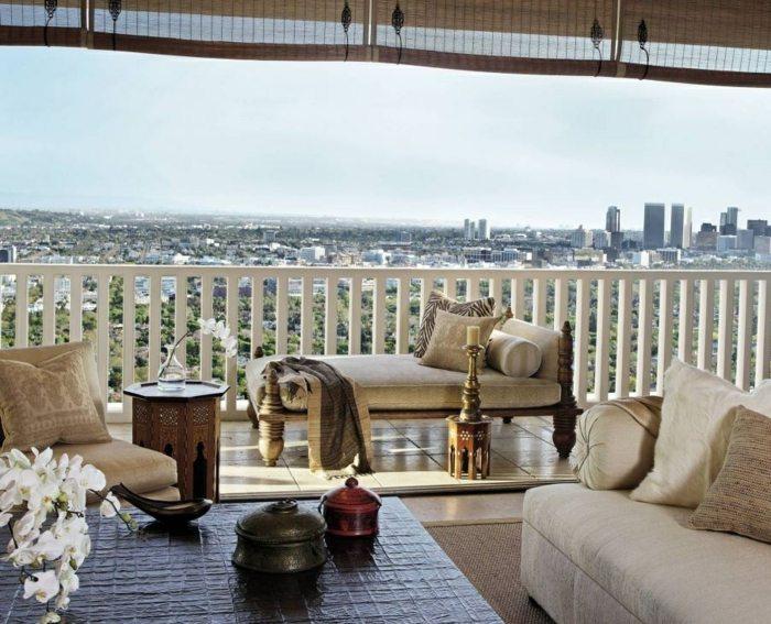 muebles de balcon pequeno moderno balcon diseno exotico ideas