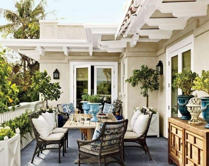 muebles de balcon pequeno moderno diseno moderno ideas