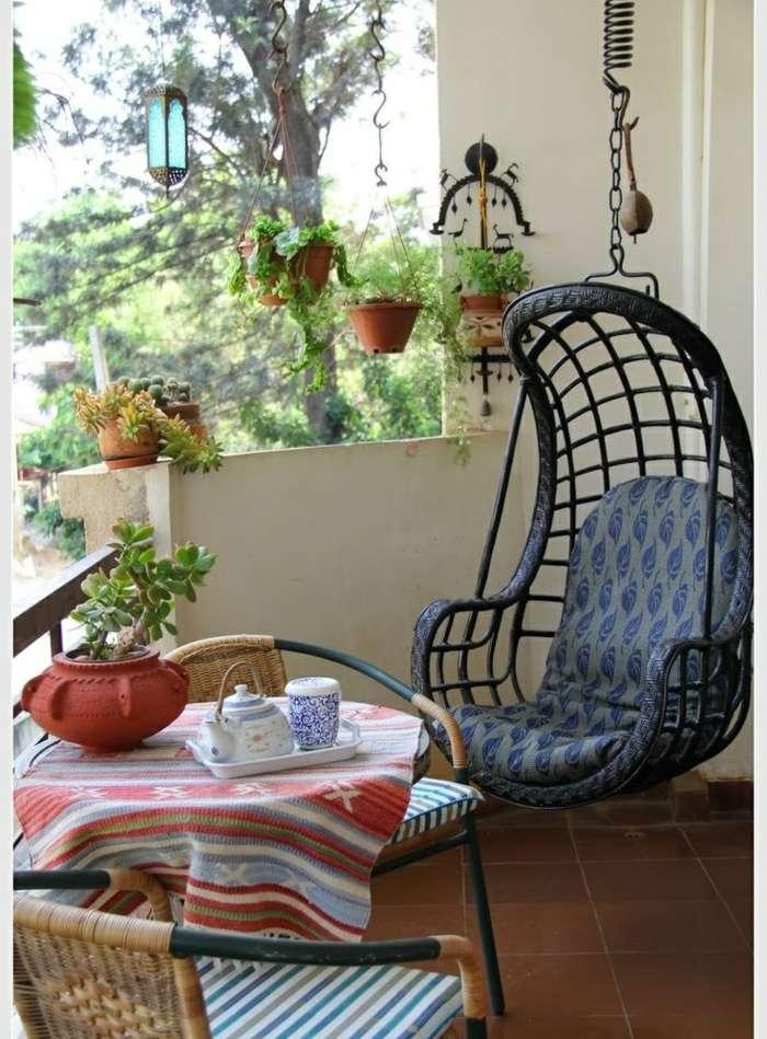 muebles de balc n peque o y detalles originales