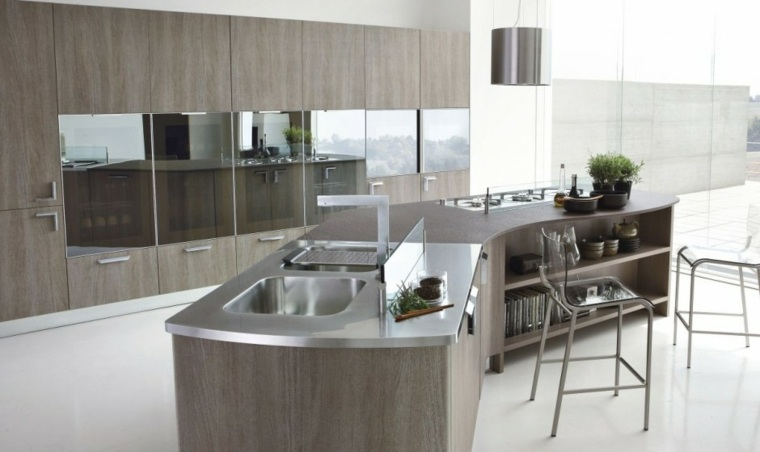 Muebles de cocina modernos colecciones temporada 2016 for Gabinetes de cocina modernos