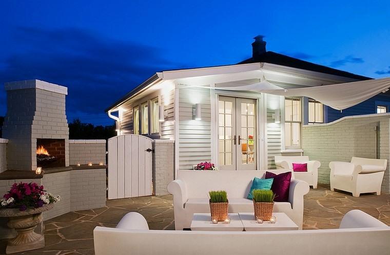 muebles diseno Philippe Starcks terraza moderna ideas