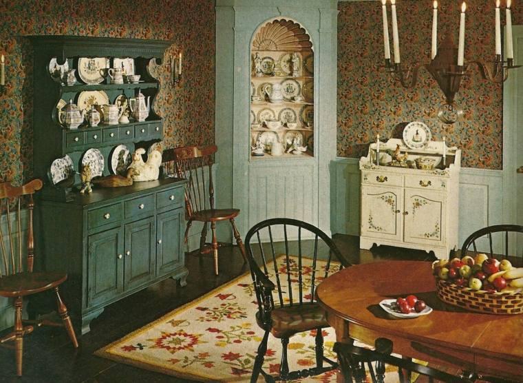 muebles origionales cocina estilo vintage