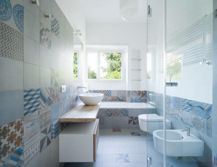 muebles para banos pequenos losas decorativas preciosas ideas