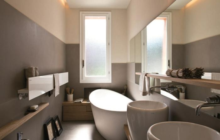 Muebles para ba os peque os y consejos para ahorrar espacio for Banos pequenos con banera