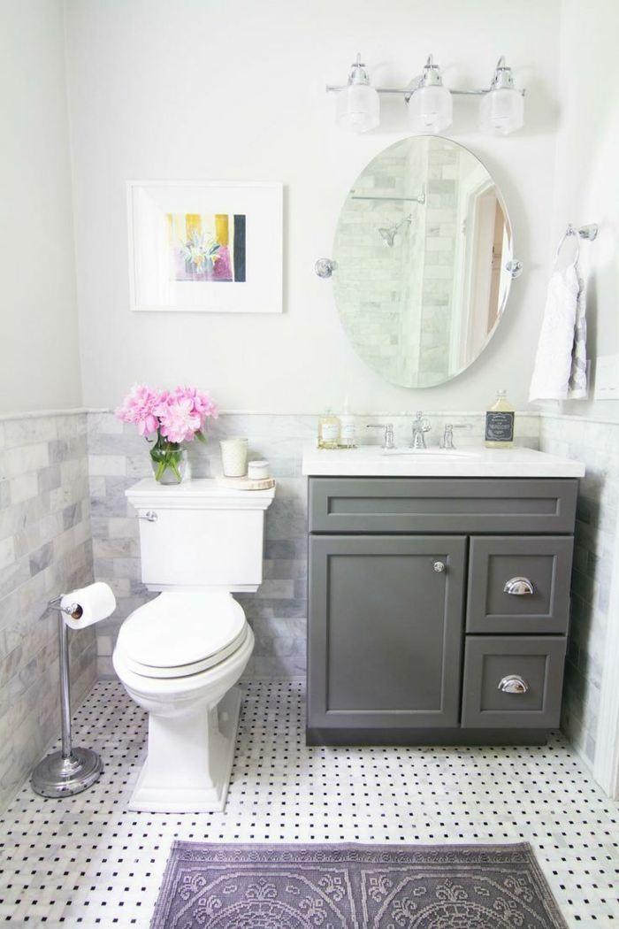Inodoro Baño Pequeno:Muebles para baños pequeños y consejos para ahorrar espacio -