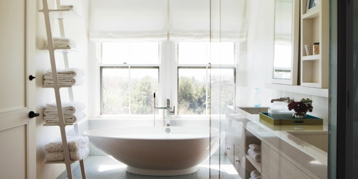 Estanterias Para Baños Pequenos:Muebles para baños pequeños y consejos para ahorrar espacio -