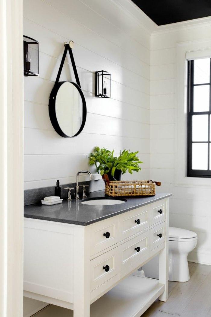 Muebles para ba os peque os y consejos para ahorrar espacio for Muebles de bano pequenos