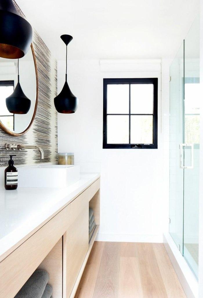 muebles para banos pequenos opciones ahorrar espacio lavabos madera ideas