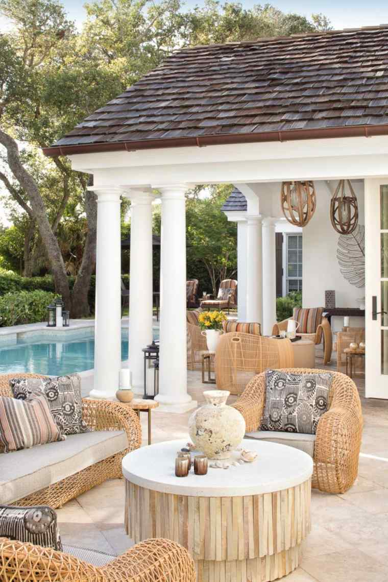 naturales terrazas oatios muebles rincones