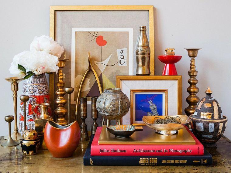 objetos vintage estilo colonial