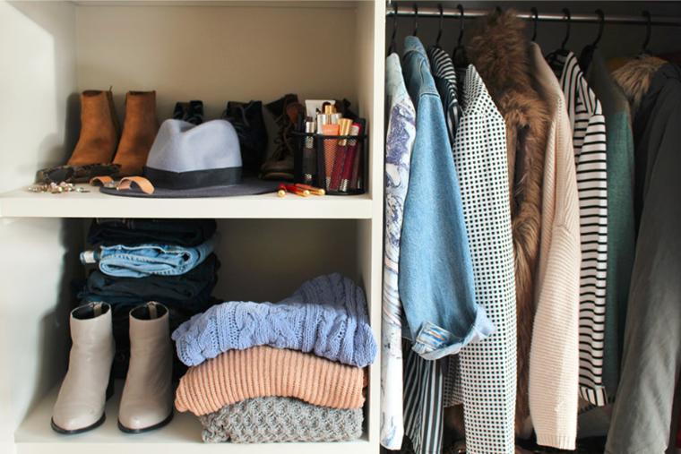 orden armario ropa moderna deco