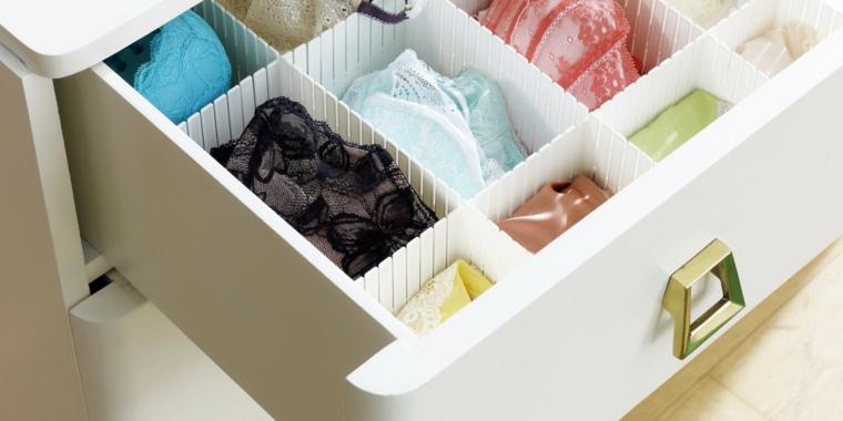 ideas sobre cómo organizar un armario