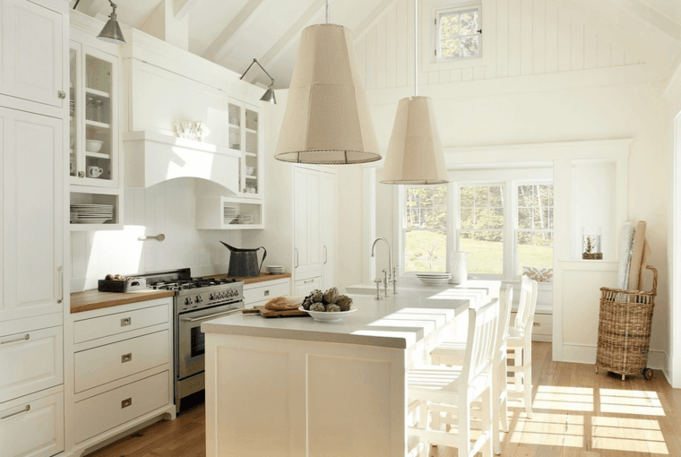 original diseno cocina crema moderna