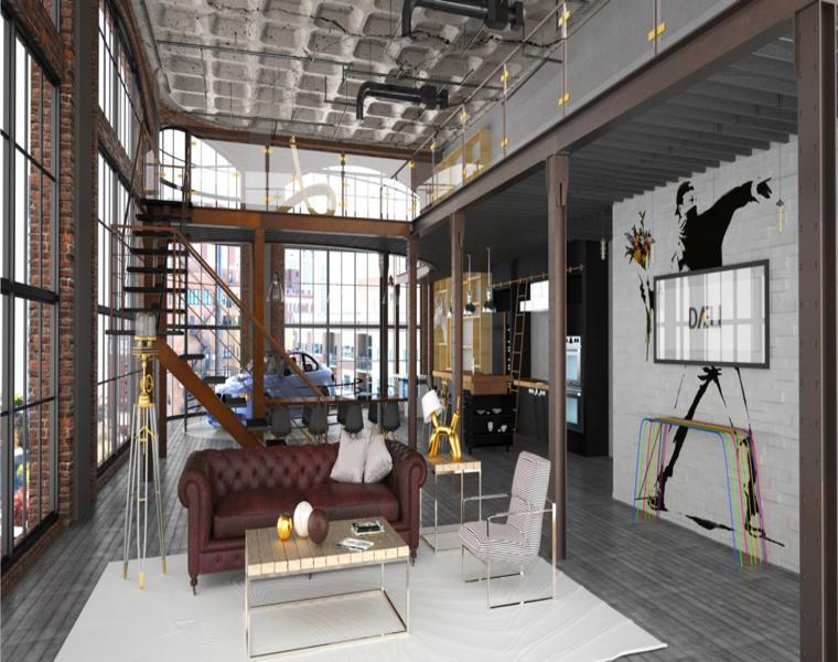 original interior diseño Circo Solarte