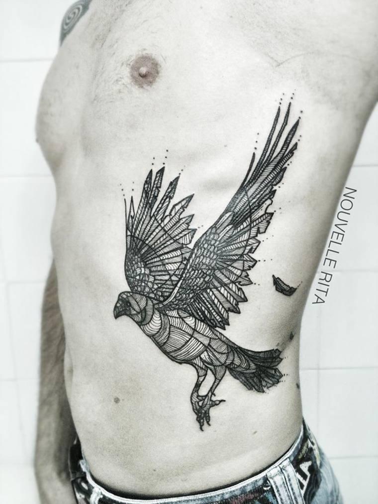 original tatu forma águila