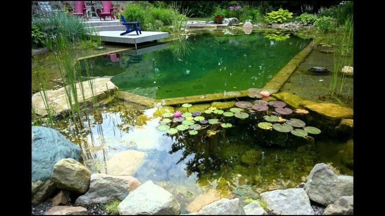 Diseno De Baño Rural: de circulación de agua corriente bajo tierra para la zona de