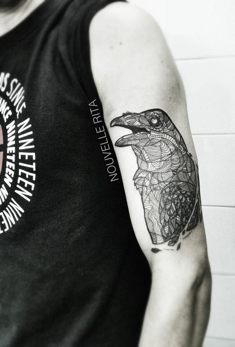 original pajaro tatu moderno