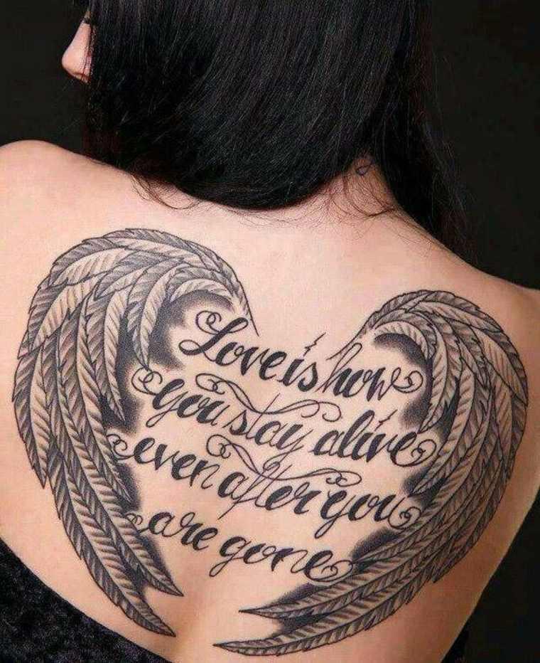 original tatuaje frase alas