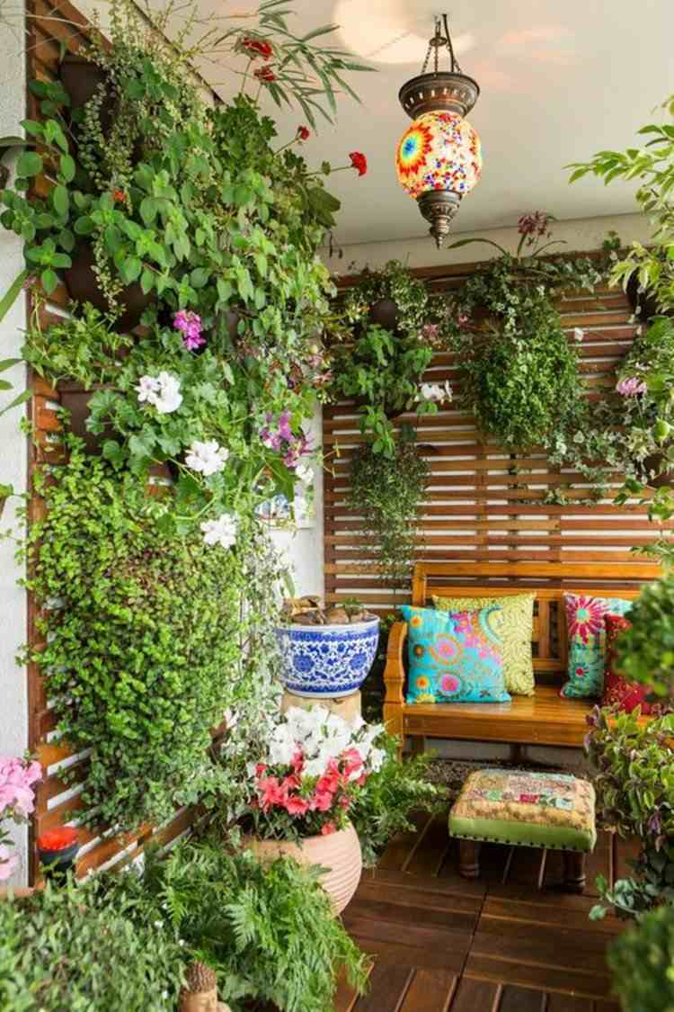 original terraza estupenda decoracion
