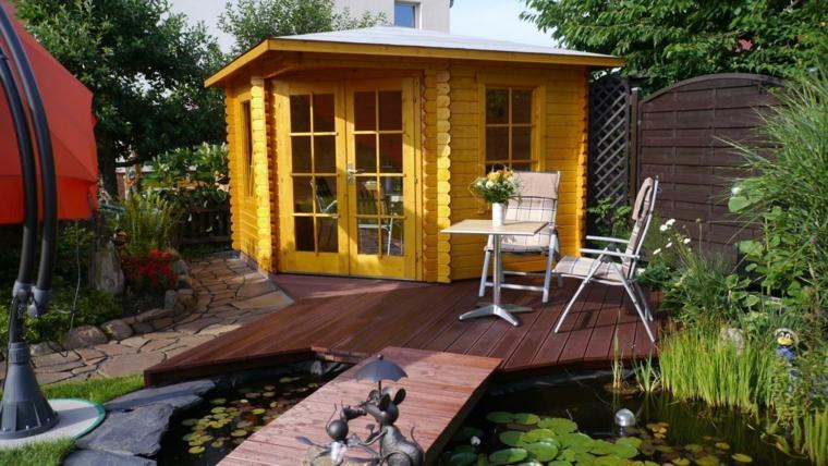porches de madera y cubiertas para jardines 12 dise os