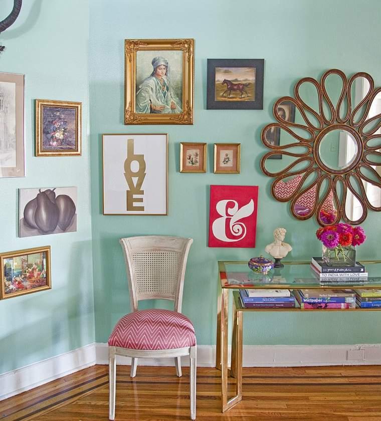 original decoración pared espejo
