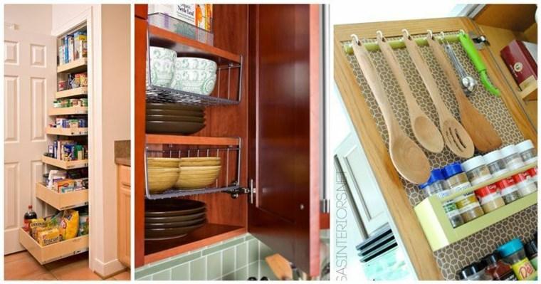 originales muebles cocina cajones funcionales